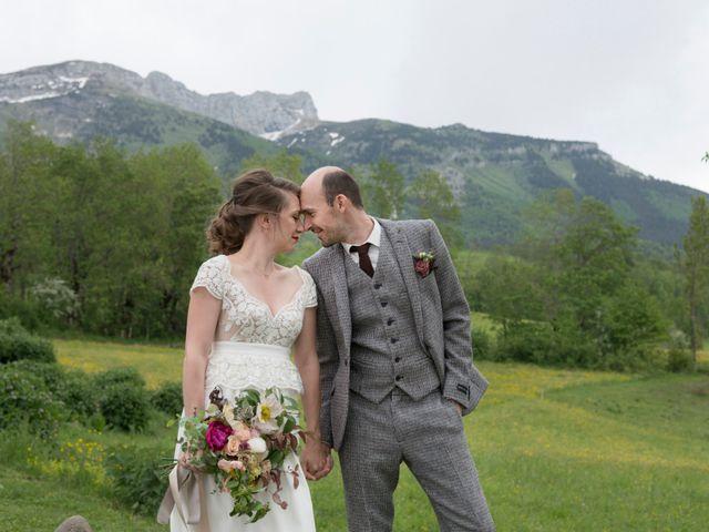 Le mariage de Fred et Sandra à Lans-en-Vercors, Isère 22