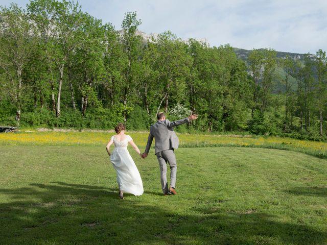 Le mariage de Fred et Sandra à Lans-en-Vercors, Isère 30
