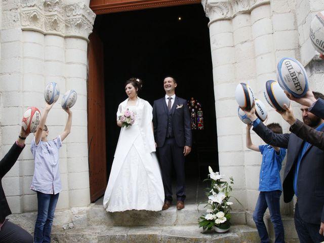 Le mariage de Jonathan et Audrey à Coussay-les-Bois, Vienne 22