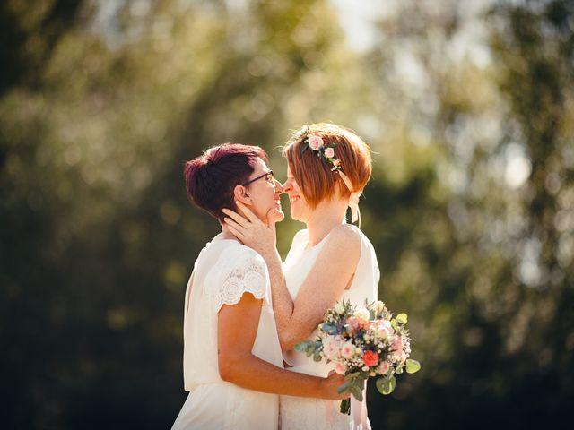 Le mariage de Capucine et Christelle à Erckartswiller, Bas Rhin 42