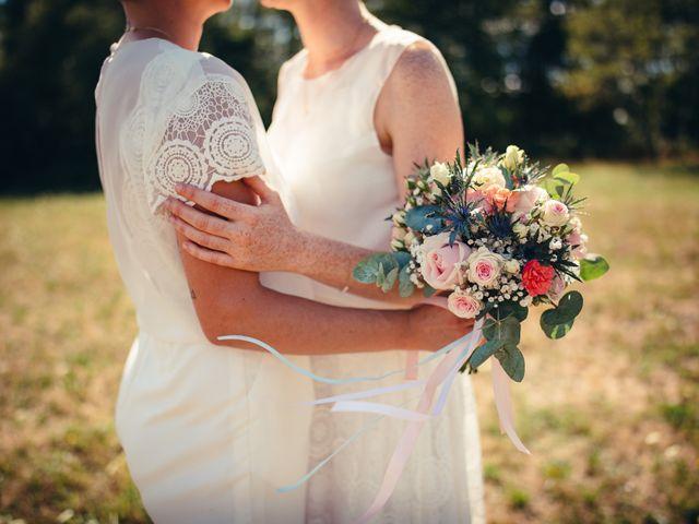 Le mariage de Capucine et Christelle à Erckartswiller, Bas Rhin 43