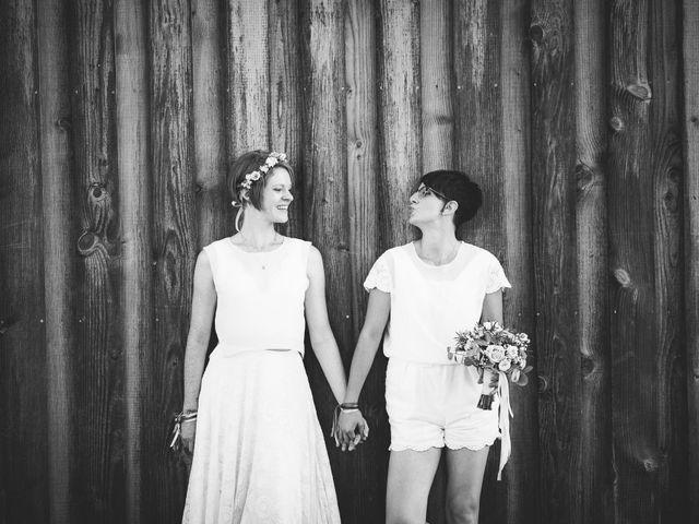 Le mariage de Capucine et Christelle à Erckartswiller, Bas Rhin 86