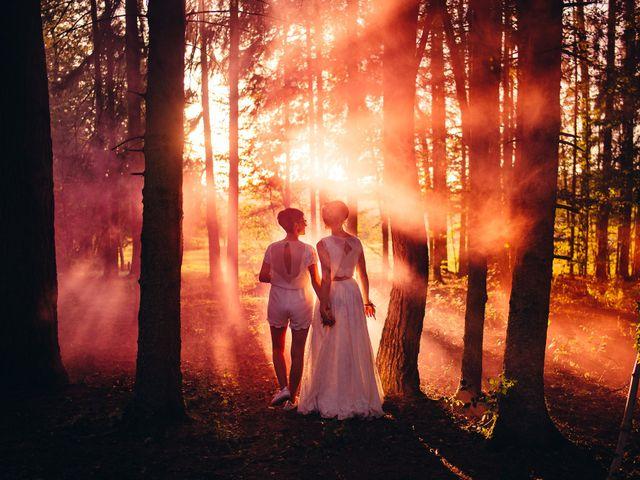 Le mariage de Capucine et Christelle à Erckartswiller, Bas Rhin 90