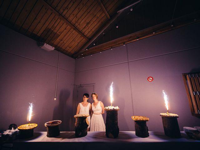 Le mariage de Capucine et Christelle à Erckartswiller, Bas Rhin 108