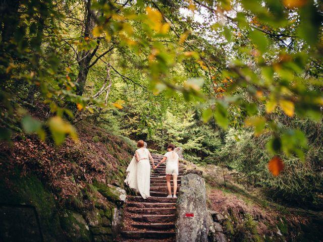 Le mariage de Capucine et Christelle à Erckartswiller, Bas Rhin 115