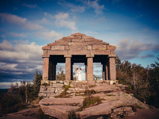 Le mariage de Capucine et Christelle à Erckartswiller, Bas Rhin 119