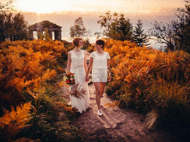 Le mariage de Capucine et Christelle à Erckartswiller, Bas Rhin 1