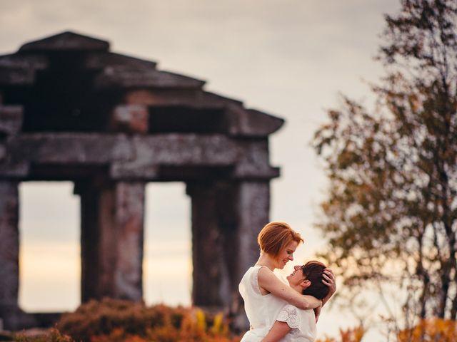 Le mariage de Capucine et Christelle à Erckartswiller, Bas Rhin 128