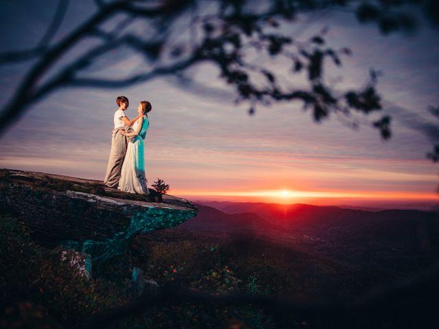 Le mariage de Capucine et Christelle à Erckartswiller, Bas Rhin 133