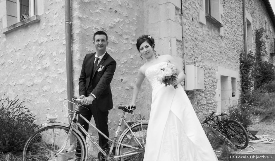 Le mariage de Jonathan et Audrey à Coussay-les-Bois, Vienne