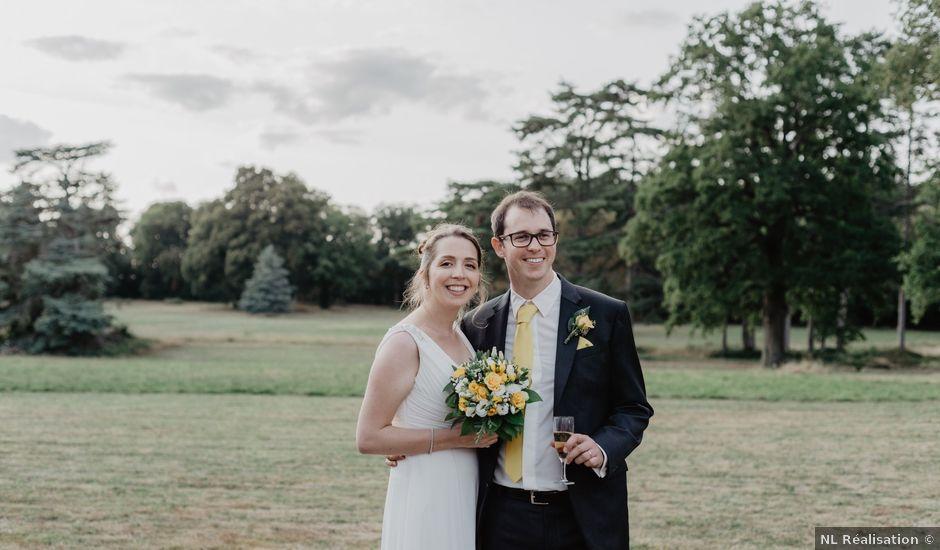 Le mariage de Sébastien et Cécile à Courtalain, Eure-et-Loir