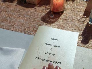 Le mariage de Amandine et  Bruno 2