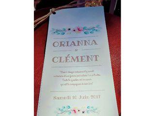 Le mariage de Orianna et Clément 1