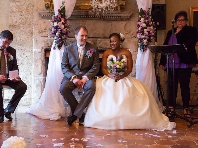 Le mariage de Guillaume et Sandrine à Fontenay-le-Fleury, Yvelines 14