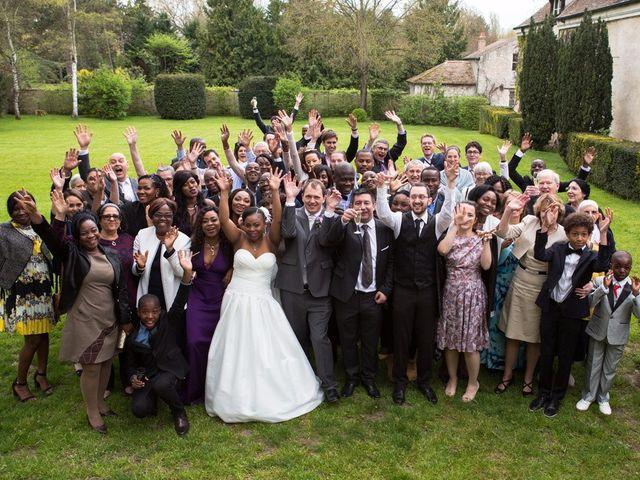 Le mariage de Guillaume et Sandrine à Fontenay-le-Fleury, Yvelines 20