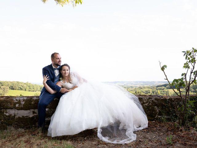Le mariage de Maxime et Océane à Cunèges, Dordogne 9