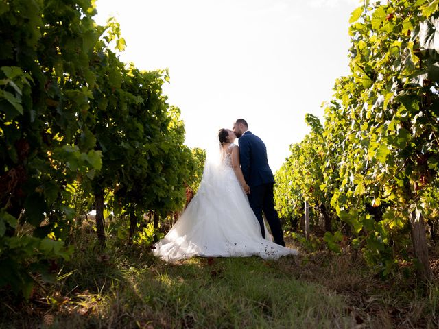 Le mariage de Maxime et Océane à Cunèges, Dordogne 11