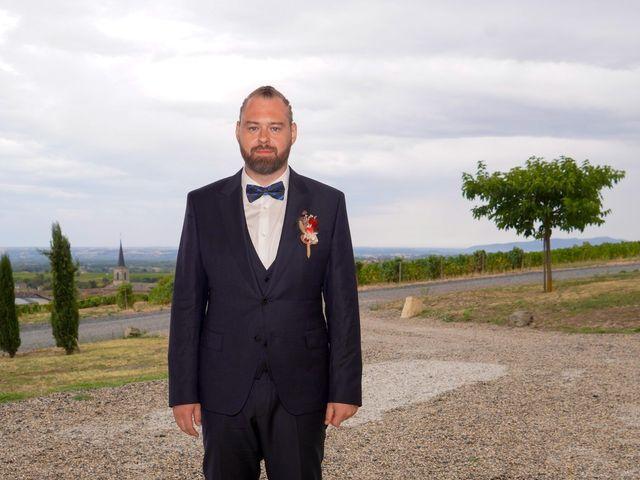 Le mariage de Chris et Amandine à Orliénas, Rhône 8