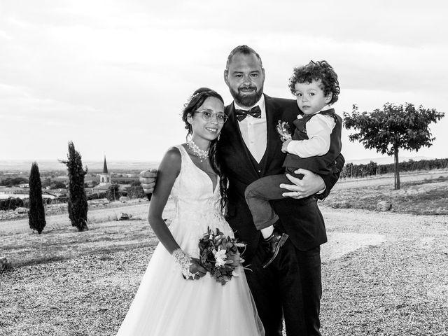 Le mariage de Chris et Amandine à Orliénas, Rhône 9