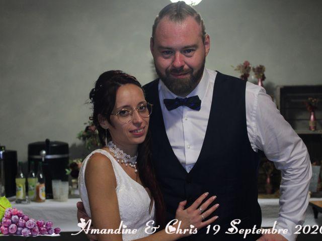 Le mariage de Chris et Amandine à Orliénas, Rhône 23