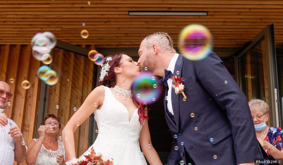 Le mariage de Chris et Amandine à Orliénas, Rhône