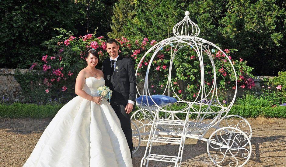 Le mariage de Charles et Charlotte à Luzillé, Indre-et-Loire