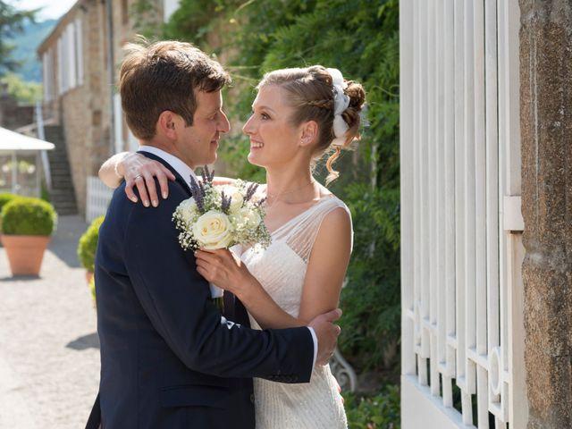 Le mariage de Matthieu et Magdalena à Satillieu, Ardèche 8