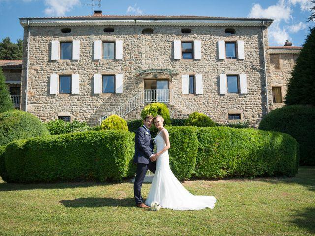 Le mariage de Matthieu et Magdalena à Satillieu, Ardèche 13