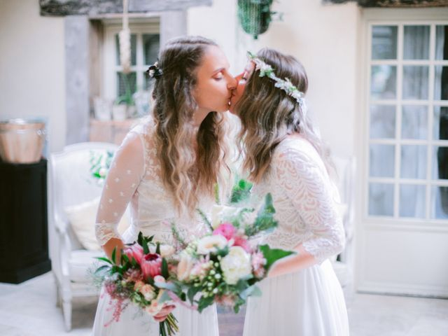 Le mariage de Alexandra et Céline à Rennes, Ille et Vilaine 22