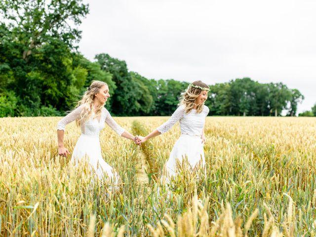 Le mariage de Alexandra et Céline à Rennes, Ille et Vilaine 53