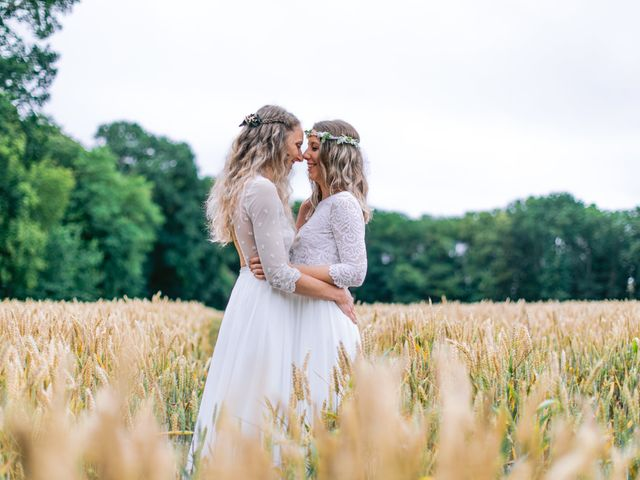 Le mariage de Alexandra et Céline à Rennes, Ille et Vilaine 56