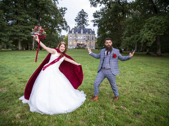 Le mariage de Yoann et Amandine à Tours, Indre-et-Loire 84