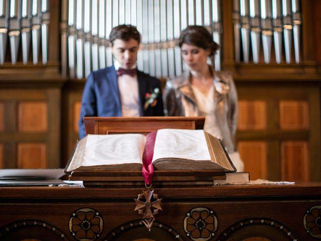 Le mariage de Geoffroy et Florentine à Husseren-Wesserling, Haut Rhin 8