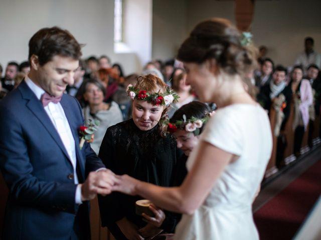 Le mariage de Geoffroy et Florentine à Husseren-Wesserling, Haut Rhin 10