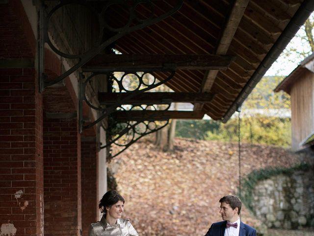 Le mariage de Geoffroy et Florentine à Husseren-Wesserling, Haut Rhin 21