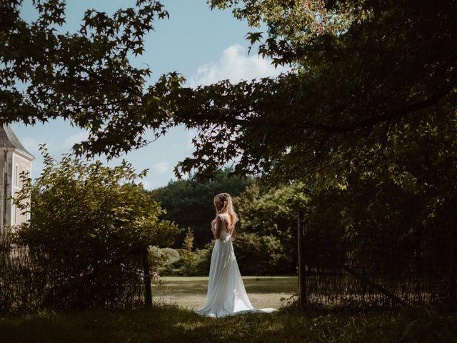 Le mariage de Pierre et Anne-Gabrielle à Durtal, Maine et Loire 1