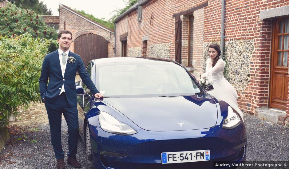 Le mariage de Nicolas et Amélie à Landas, Nord