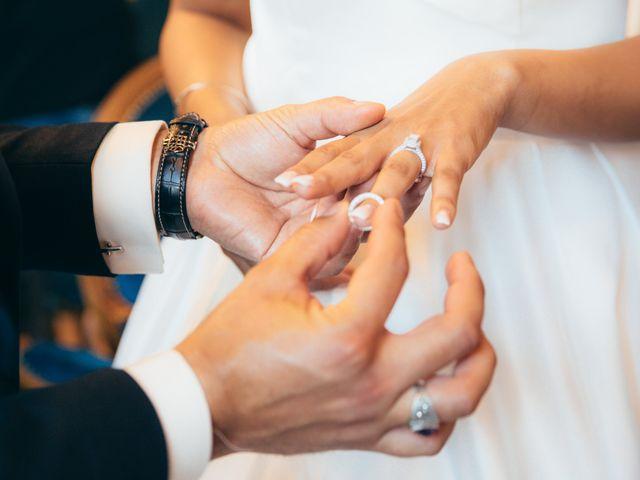 Le mariage de Nassim et Fatiha à Paris, Paris 20