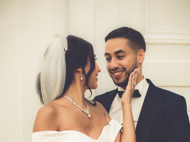 Le mariage de Nassim et Fatiha à Paris, Paris 37