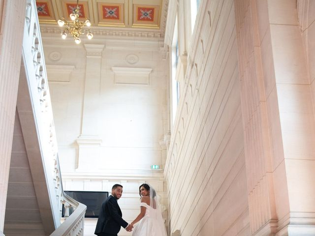 Le mariage de Nassim et Fatiha à Paris, Paris 67