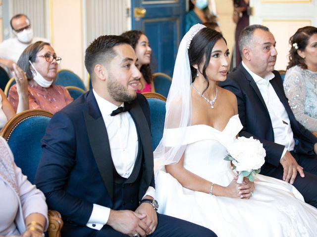 Le mariage de Nassim et Fatiha à Paris, Paris 69