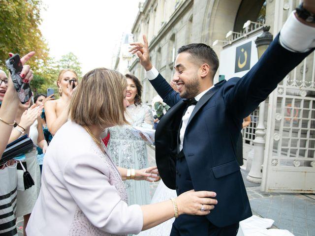 Le mariage de Nassim et Fatiha à Paris, Paris 73