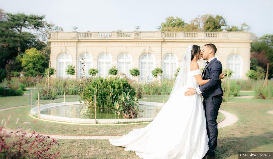 Le mariage de Nassim et Fatiha à Paris, Paris