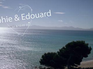 Le mariage de Sophie et Edouard 1