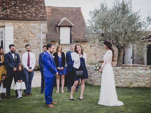 Le mariage de Aurélien et Mathilde à Hermeray, Yvelines 46