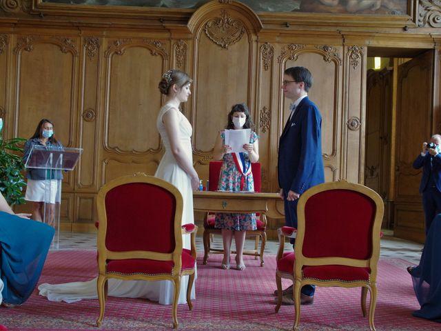 Le mariage de Benoît et Clémentine à Caen, Calvados 10