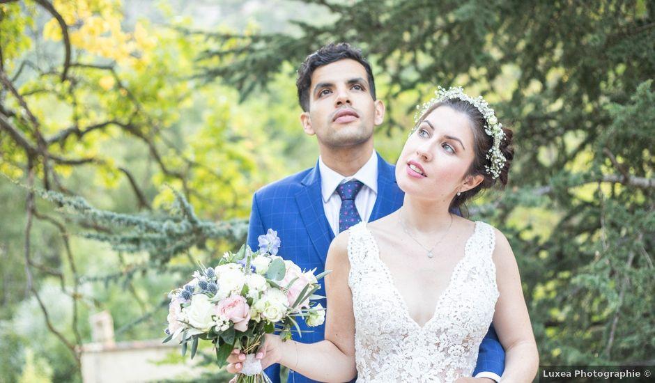 Le mariage de Tayeb et Lara à Mormoiron, Vaucluse