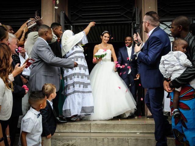 Le mariage de Julie et Abdoulaye à Bouafle, Yvelines 8