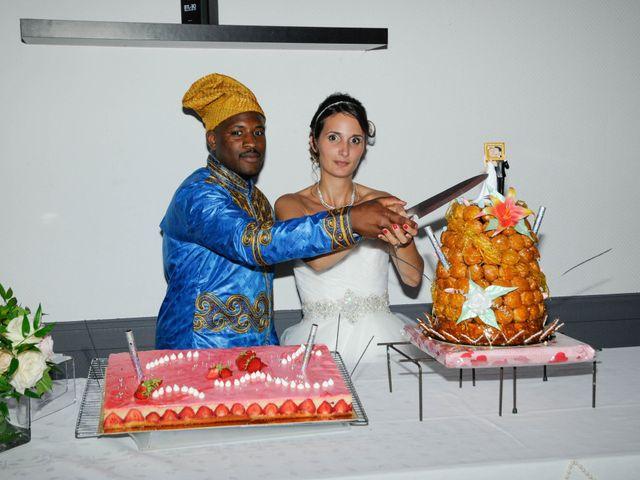 Le mariage de Julie et Abdoulaye à Bouafle, Yvelines 12