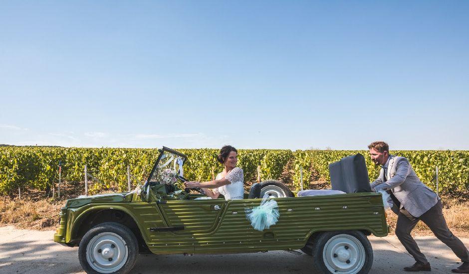 Le mariage de Loïc et Marine à Vaudemanges, Marne